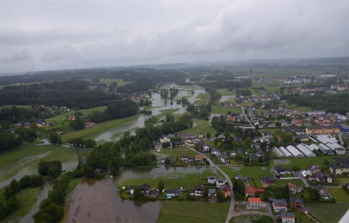 Mattig - Mooswiese - Hochwasser Juni 2013