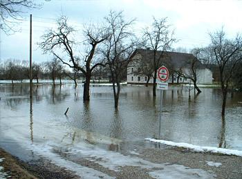 Mattig Hochwasser 2005