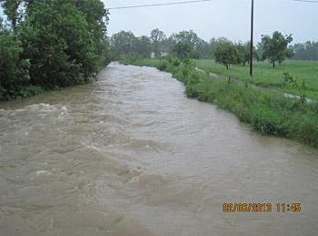 Mattig Hochwasser 2013