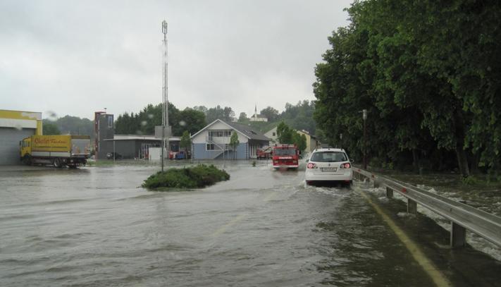 Helpfau-Uttendorf Hochwasser Juni 2013